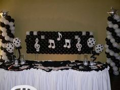 decoraçao 15 anos tema musica - Pesquisa Google