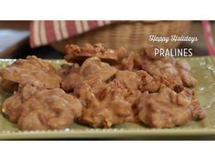 """From Happy Holidays: """"Pralines"""""""