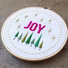 salty oat: quilt studio and fabric shop: joy embroidery sampler
