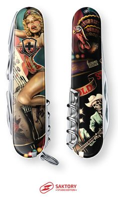 Rockin Girl Show Swiss Army Knife: Saktory Studio Edition, by Kurono
