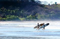 Nosara Surf Academy — Nosara, Costa Rica If you want to learn to ride the waves, Costa Rica is arguably one of the best spots in the world. Nosara, located on the country's scenic Pacific coast, is a laid-back beach community that's become a surfing mecca thanks to several great surf schools, including Nosara Surf Academy. The school, which focuses on beginning and intermediate surfers, offers packages starting at $1,200 a week for two lessons a day, plus hotel. Sounds pretty rad to us.