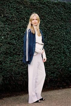#PernilleTeisbaek Vanessa Jackman: London Fashion Week AW 2014....Pernille