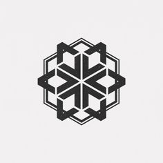 A new geometric and minimal design every day. Geometric Graphic, Geometric Designs, Geometric Shapes, Web Design, Icon Design, Design Art, Op Art, 1 Tattoo, 3d Texture