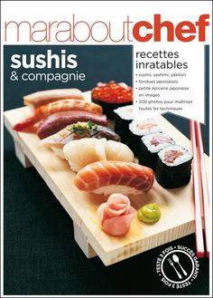 Sushis et compagnie // Marabout Chef // ISBN 9782501060080 - EAN 978-2501060080