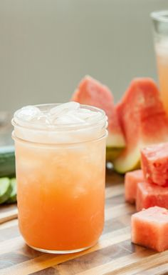 #Recipe: Cucumber Melon Hydrating Cocktail #DrinkRecipes