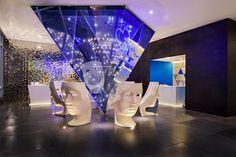 Living Room Bar @ W Mexico City Hotel #WTHEPLACETOBE #bar #design http://winsidermexico.com/2014/05/w-mexico-city-reveals-living-room-bar/