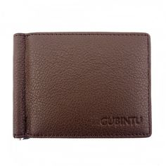 Jieway GUBINTU Men's Leather Slim Bifold Front Pocket Card Money Chip Wallet *** For more information, visit image link. (This is an Amazon Affiliate link and I receive a commission for the sales)