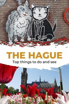 What to do in The Hague, The Netherlands? Check out all the top things to do and plan your visit. The Hague, Weekend Breaks, Walkabout, City Break, Weekend Getaways, Places To See, Netherlands, Travel Inspiration, Street Art