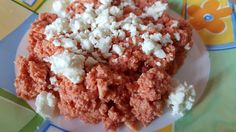 Kagianas - tomato & scrambled eggs