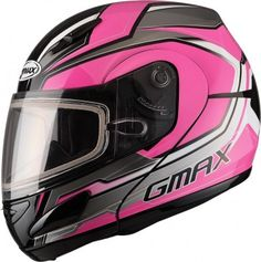 GMax GM44S Modular Glacier Womens Sled Cold Weather Protection Snowmobile Helmet