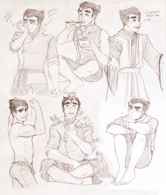 If you couldn't tell by now, Bolin is my favorite. :)