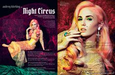 Audrey Kitching in Night Circus : fashion editorial | auxiliary magazine
