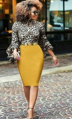 ae9af56cb75 Yellow is an ideal animal print complementary color!