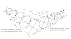 perspektive 1 perspektivisch zeichnen mit fluchtpunkt und fluchtlinien perspektivische kugel. Black Bedroom Furniture Sets. Home Design Ideas