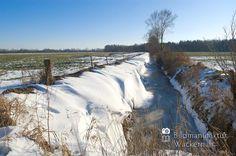 nice Fotografie »Graben mit Schnee @ Winter Nº 14«,  #Naturansichten