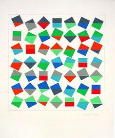Jede Farbe berührt jede, 1986_Anton Stankowski #Crystallographic/Allover Balance Types Of Balance, Balance Art, Balance Design, Anton, Project Ideas, Art Projects, Shops, Grafik Design, Quilting Ideas