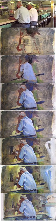 James Gurney Casein and gouache
