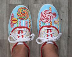 Painted Shoes - Candy Sweet :)