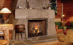 Modern Cabin Design...rustic lovers. Whitedoveinc.com {White Dove Interiors}
