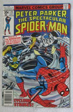 The Spectacular Spider-Man #23 (Oct 1978, Marvel) Moon Knight app VF/NM 9.0