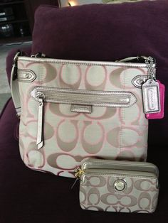 COACH From Coach Outlet (less than $100 for both)