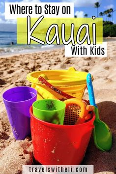 Where to stay on the island of Kauai, Hawaii with kids - Each side of the island of Kauai is so different. Find the area best for your Hawaii family beach vacation. #hawaii #kauai #familyvacation #beachvacation #beach #travelswitheli Hawaii Vacation Tips, Hawaii Travel, Kauai Hawaii, Beach Vacations, Travel With Kids, Family Travel, Kilauea Lighthouse, Poipu Beach, Hanalei Bay