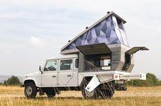 Land Rover Defender 130, Landrover Defender, Land Rover 130, Landrover Camper, Defender Camper, Land Rovers, Slide In Camper, Off Road Camper, Jeep Wrangler Unlimited