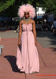 Jeitos mais descolados de usar peças pink: Vestidos