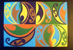 maori art for kids - Google Search
