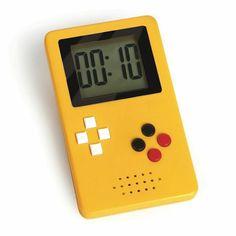 Kitchen timer. Magnetic back. Remember GameBoy?