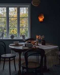 Good morning 🕯Back home from Vrångsholmen where I hosted a workshop this weekend. Thank You Babe, Back Home, Decoration, Sweet Home, Dining Table, Cottage, Interior Design, Workshop, House