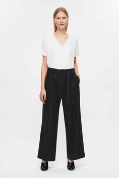 COS | Wool-cashmere trousers