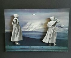 """""""Fishwives """" collage by Sophidavich -2015"""