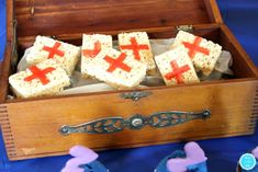 FORTNIE Party Ideas: Rice Krispies Medic Bandages