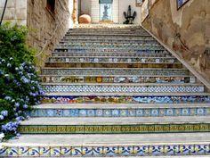 Sciacca-scalinata