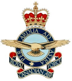Royal Canadian Air Force We were on Pilot exchange with Canada. My husband worked at the Maritime Air Group Headquarters Canadian Army, Canadian History, Military Insignia, Royal Air Force, Aviation Art, Armed Forces, Coat Of Arms, Badge, Patches