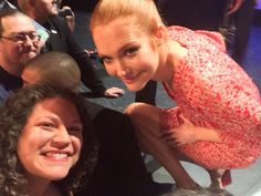MichelleF0918 @MichelleF0918 The pic & person that made my night. Not enough nice words 4 @darbysofficial! #sweetheart #scandal #PaleyFest