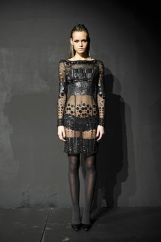 I need somewhere to wear this to. Minus shoes and stockings. Catherine Malandrino A/W '12