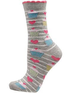 Natalie Cupcake Socks $6.00