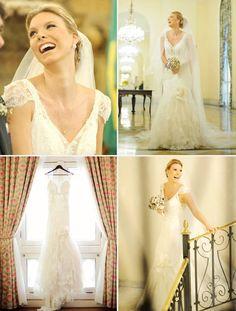 Vestido de noiva: veja cinco looks românticos - Notícias - Noivas GNT