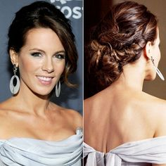 Amazing Wedding Updos From Every Angle - Kate Beckinsale from #InStyle