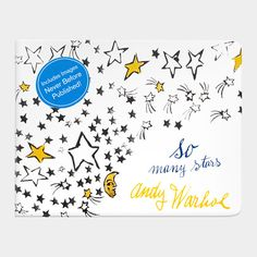 Andy Warhol's So Many Stars - a picture book to inspire a love of high art in your little one.