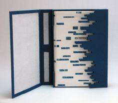Encuadernación de Zigor Anguiano para el libro de Manuel Martínez Murquía 'En Prosa'. Libro y caja