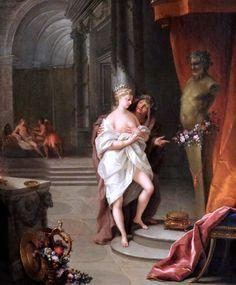 Jean Raoux. 1677-1734. Paris.  L'Offrande à Priape. The Offering to Priapus…