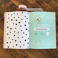 Die schönste Wartezeit der Welt - deine Schwangerschaft! Jetzt ganz zauberhaft festhalten mit unserem neuen Tagebuch!