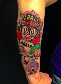 Arale tattoo