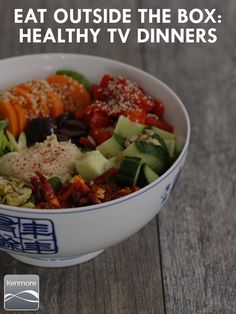 Don't just order out, whip up a healthy, delicious dinner before you binge your favorite shows.