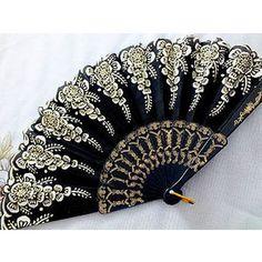 Spanish Flamenco hand fan