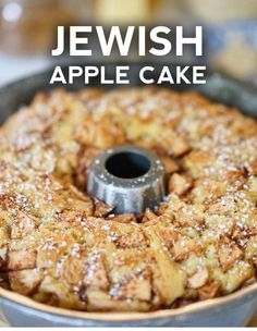 Jewish Apple Cake - One of our favorite apple recipes comes from an old college friend who lives on the east coast. Jewish Apple Cake - One of our favorite apple recipes comes from an old college friend who lives on the east coast. Apple Dessert Recipes, Köstliche Desserts, Delicious Desserts, Apple Bundt Cake Recipes, Jewish Apple Cake Recipe Bundt, Apple Recipes Easy, Holiday Recipes, Recipe For Apple Cake, Apple Pudding Cake Recipe
