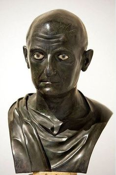 Scipio Africanus, Publius Cornelius Scipio Africanus, the roman general victor of the battle of Zama, which ended the Second Punic War in 202 B.C. from the Villa dei Papyri, Herculaneum. Museo Archeologico Nazionale, Naples